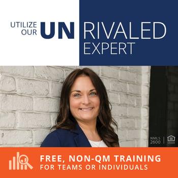 Free, Non-QM Training by Amy Marsh